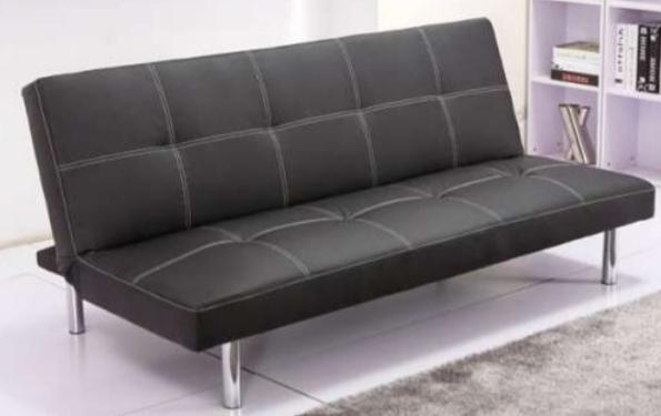 Sofa De Escai E6d5 Mil Anuncios sofà Cama Negro De Cuero Sky