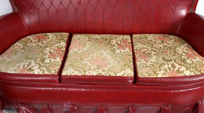Sofa De Escai Gdd0 Antiguo sofà Sky 3 Plazas Granate Prar Muebles Vintage En
