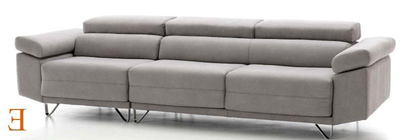Sofa Deslizante 9fdy sofà 4 Plazas 302 Cm asientos Deslizantes Y Cabezales Reclinables