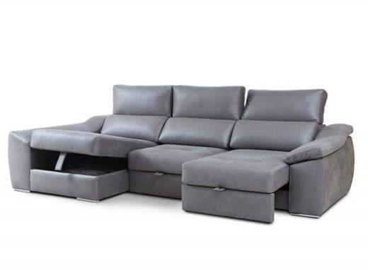 Sofa Deslizante Ffdn sofà Chaise Longue Con asientos Deslizantes Mediante Ruedas