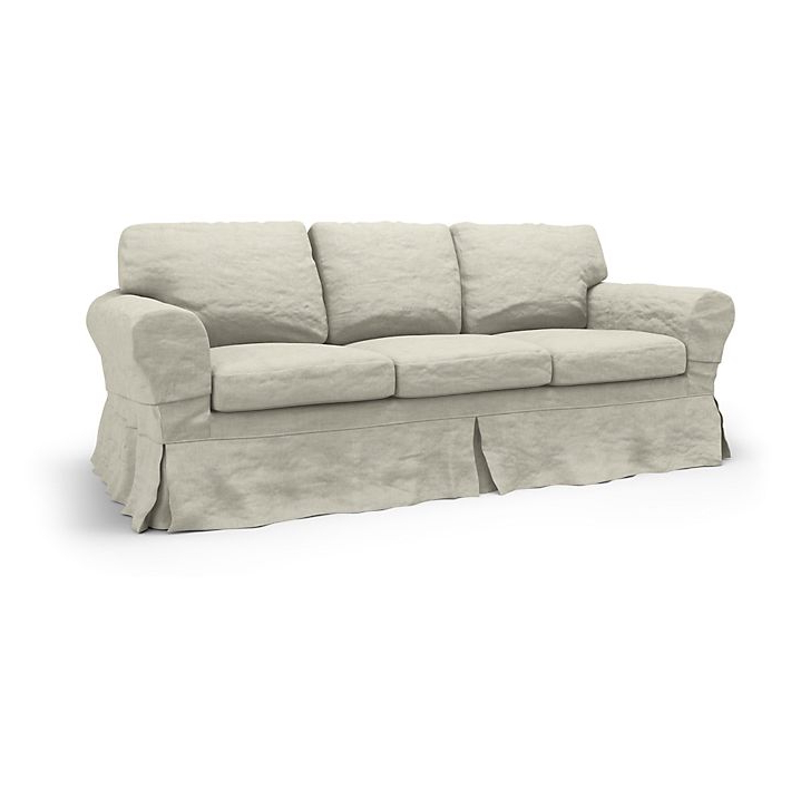 Sofa Ektorp 3 Plazas X8d1 Ektorp Funda Para sofà De 3 Plazas Loose Fit Country Bemz