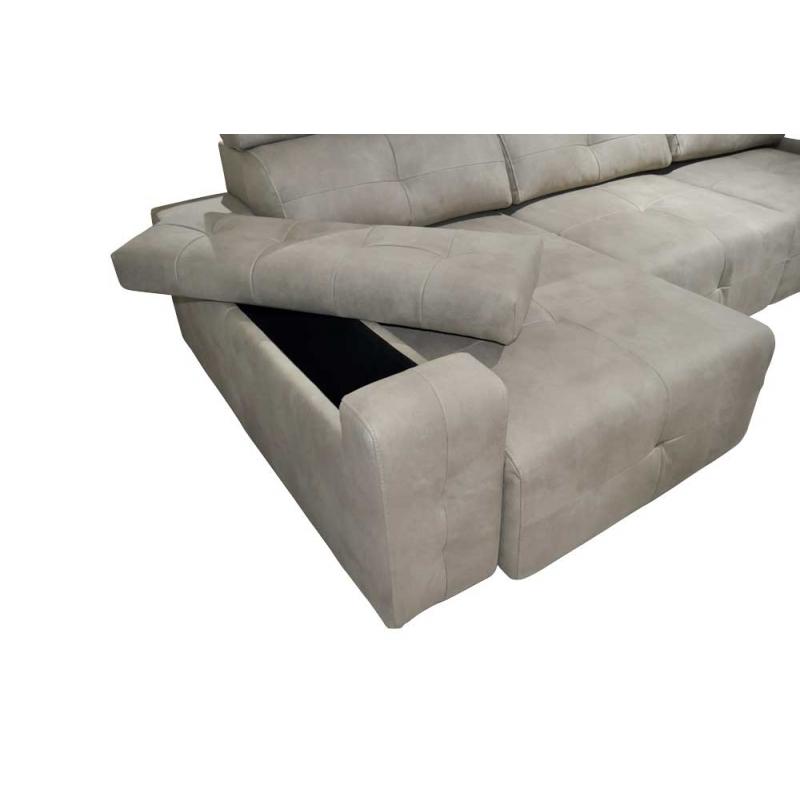 Sofa Extensible 3 Plazas 3ldq sofà Ogacihc 3 Plazas De asientos Y Chaiselongue Extraà Bles Arcones