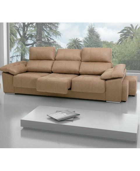 Sofa Extensible 3 Plazas J7do sofà 3 Plazas Con 3 asientos Extraibles 240cm Decopaq