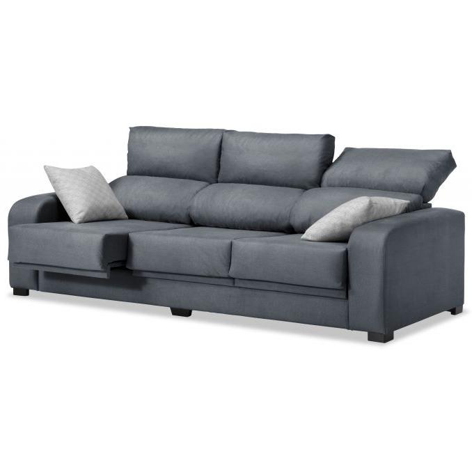 Sofa Extensible 3 Plazas S5d8 sofà 3 Plazas London Reclinable Extensible Desenfundable Marengo 220 C