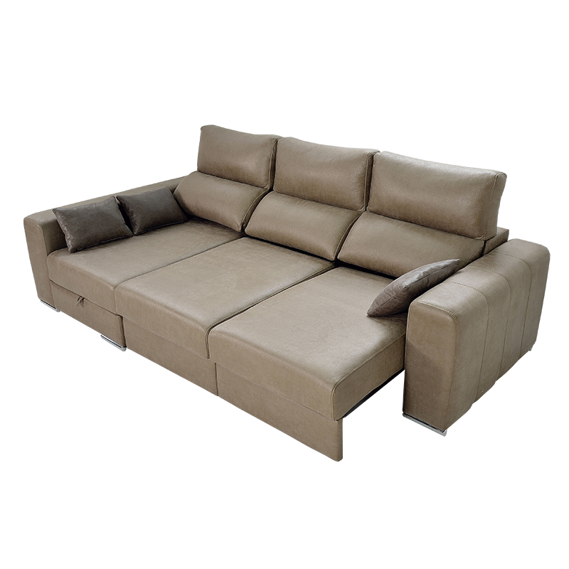 Sofa Extensible 3 Plazas Txdf Chaiselongue Modelo Megan