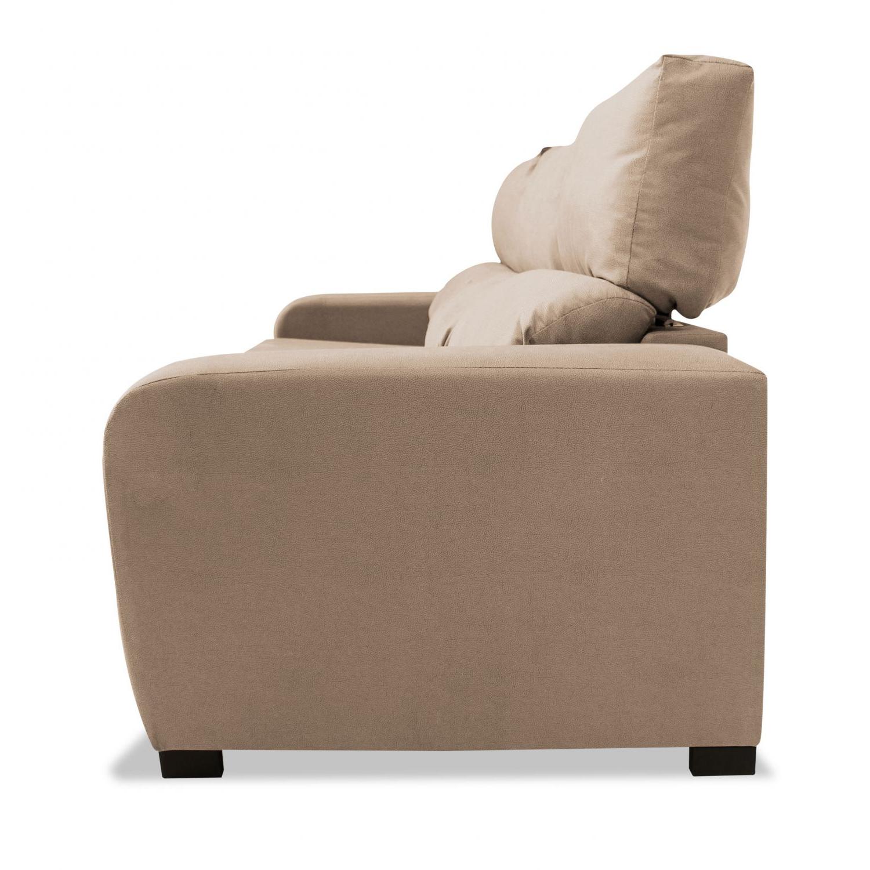 Sofa Extensible 3 Plazas U3dh sofà 3 Plazas London Reclinable Extensible Desenfundable Beige 220 Cm