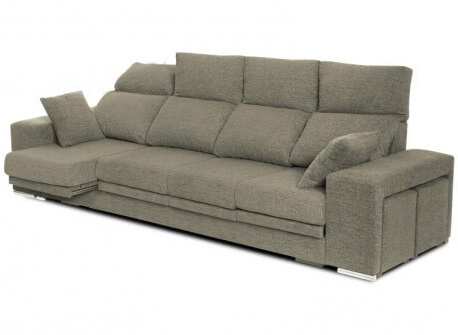 Sofa Extensible Ipdd sofà S Sabadell Extensible Y Reclinable Con 2 Puffs Y 2 Cojines