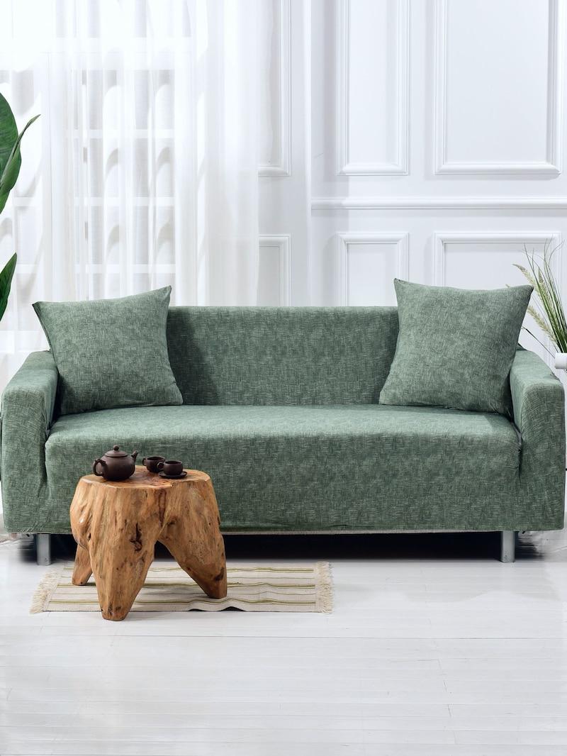 Sofa Extensible Mndw Housse De sofa Extensible Unicolore Housse De Cousin 1 Pià Ce