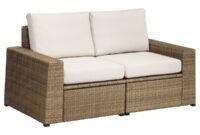 Sofa Exterior Ikea 3ldq 2 Seat Modular sofa Outdoor sollerà N Brown Frà Sà N Duvholmen Beige