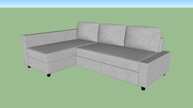 Sofa Friheten 0gdr Ikea Friheten Pull Out sofa 3d Warehouse