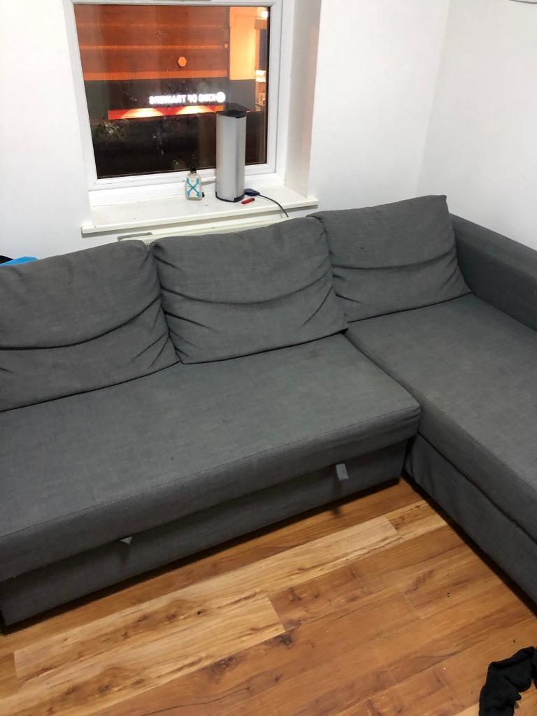 Sofa Friheten Budm Ikea Double sofa Bed Friheten Corner sofa with Storage Chest In Grey