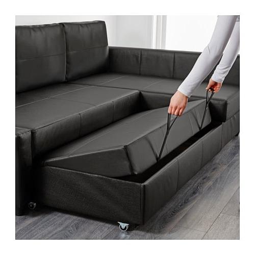 Sofa Friheten D0dg Friheten Sleeper Sectional 3 Seat W Storage Skiftebo Dark Gray Ikea