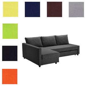 Sofa Friheten Ftd8 Custom Made Cover Fits Ikea Friheten sofa Bed with Chaise Slipcover