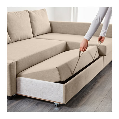 Sofa Friheten Gdd0 Friheten Corner sofa Bed with Storage Skiftebo Dark Gray Ikea