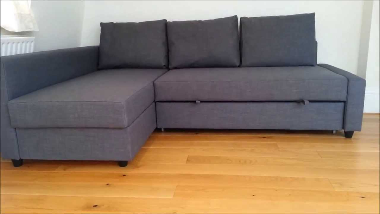 Sofa Friheten Ikea Opiniones E9dx Ikea sofa Bed Youtube