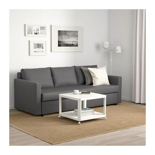 Sofa Friheten O2d5 Friheten Three Seat sofa Bed Skiftebo Dark Grey Ikea