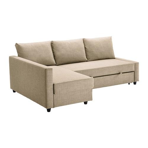Sofa Friheten Rldj Friheten Corner sofa Bed with Storage Skiftebo Beige Ikea