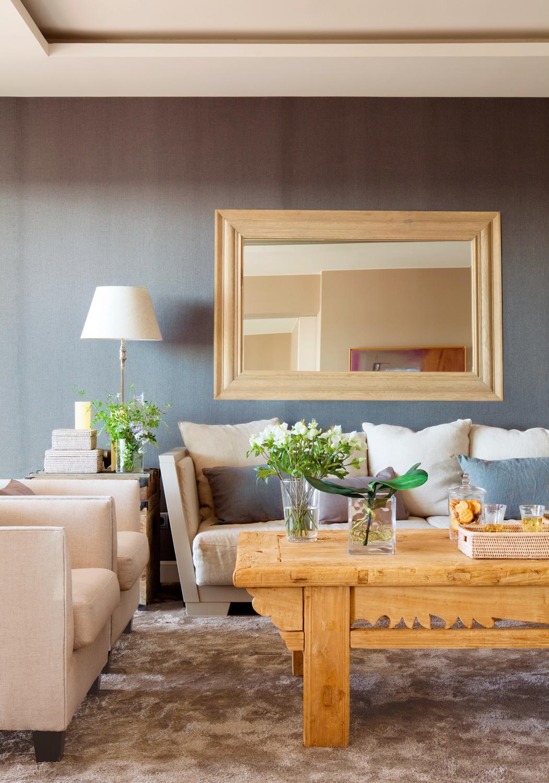 Sofa Gris Como Pintar Las Paredes 9fdy Salones Con toques En Gris