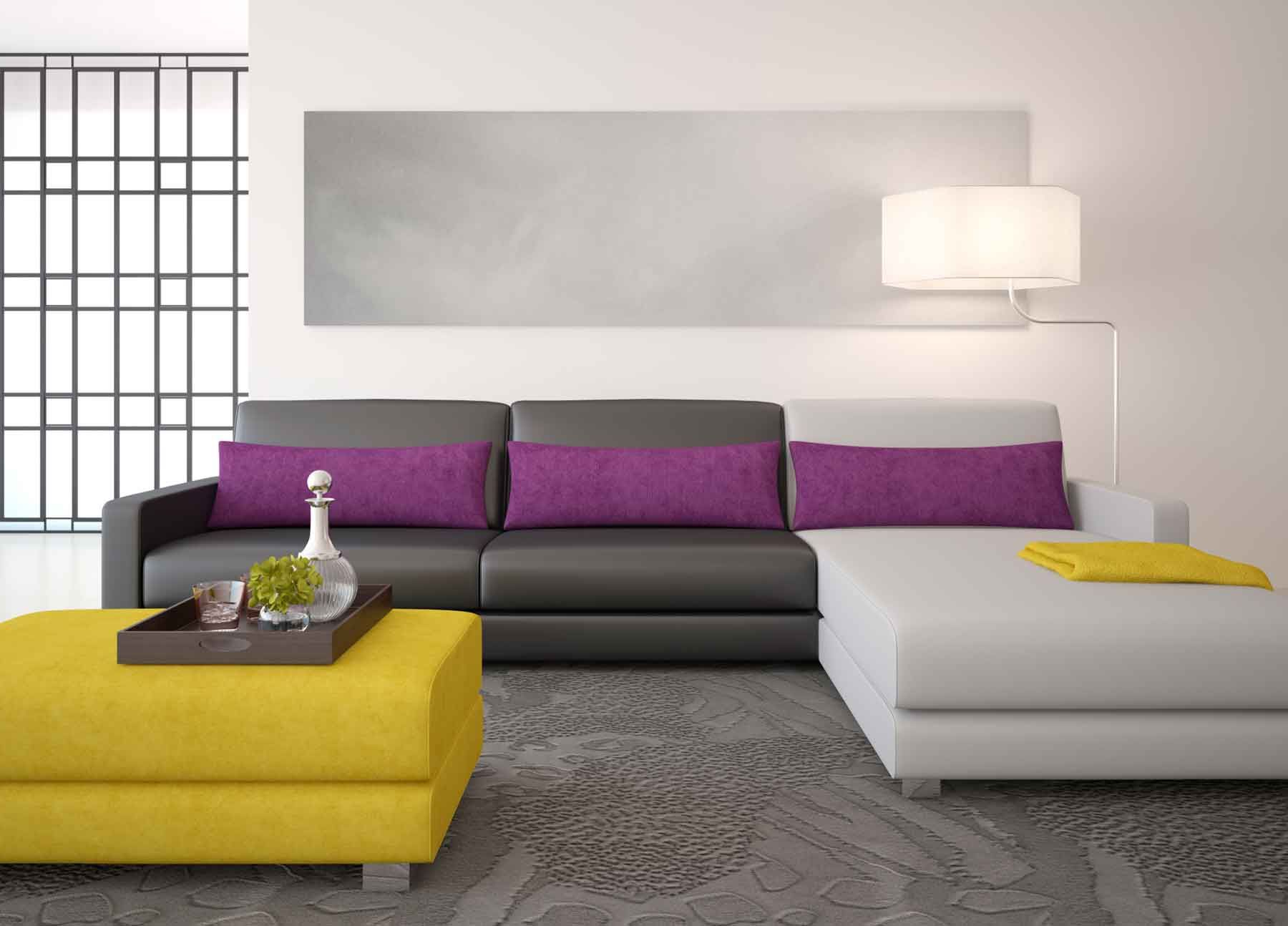 Sofa Gris Como Pintar Las Paredes Fmdf sofà De Color Gris Para El Salà N Hogarmania