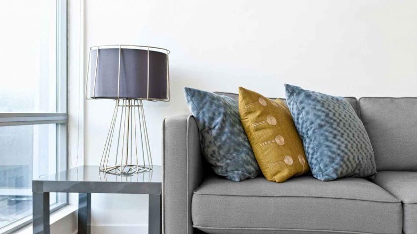 Sofa Gris Como Pintar Las Paredes Ipdd sofà De Color Gris Para El Salà N Hogarmania