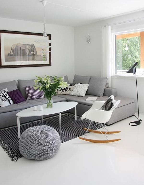 Sofa Gris Como Pintar Las Paredes Irdz Un Precioso Salà N Con Un sofà Gris O Protagonista Lady Enreos