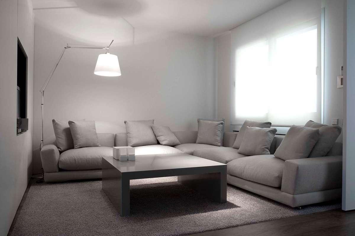 Sofa Gris Como Pintar Las Paredes Kvdd sofà S Grises Para Agrandar El Salà N Decoraciond