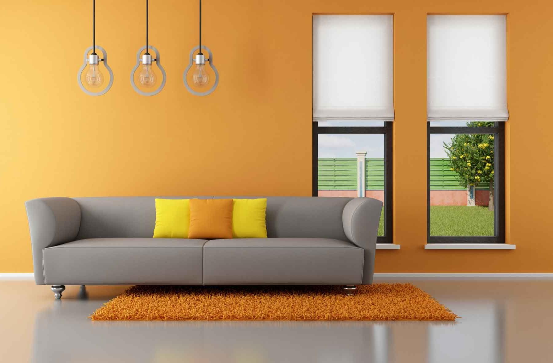 Sofa Gris Como Pintar Las Paredes Q0d4 sofà De Color Gris Para El Salà N Hogarmania