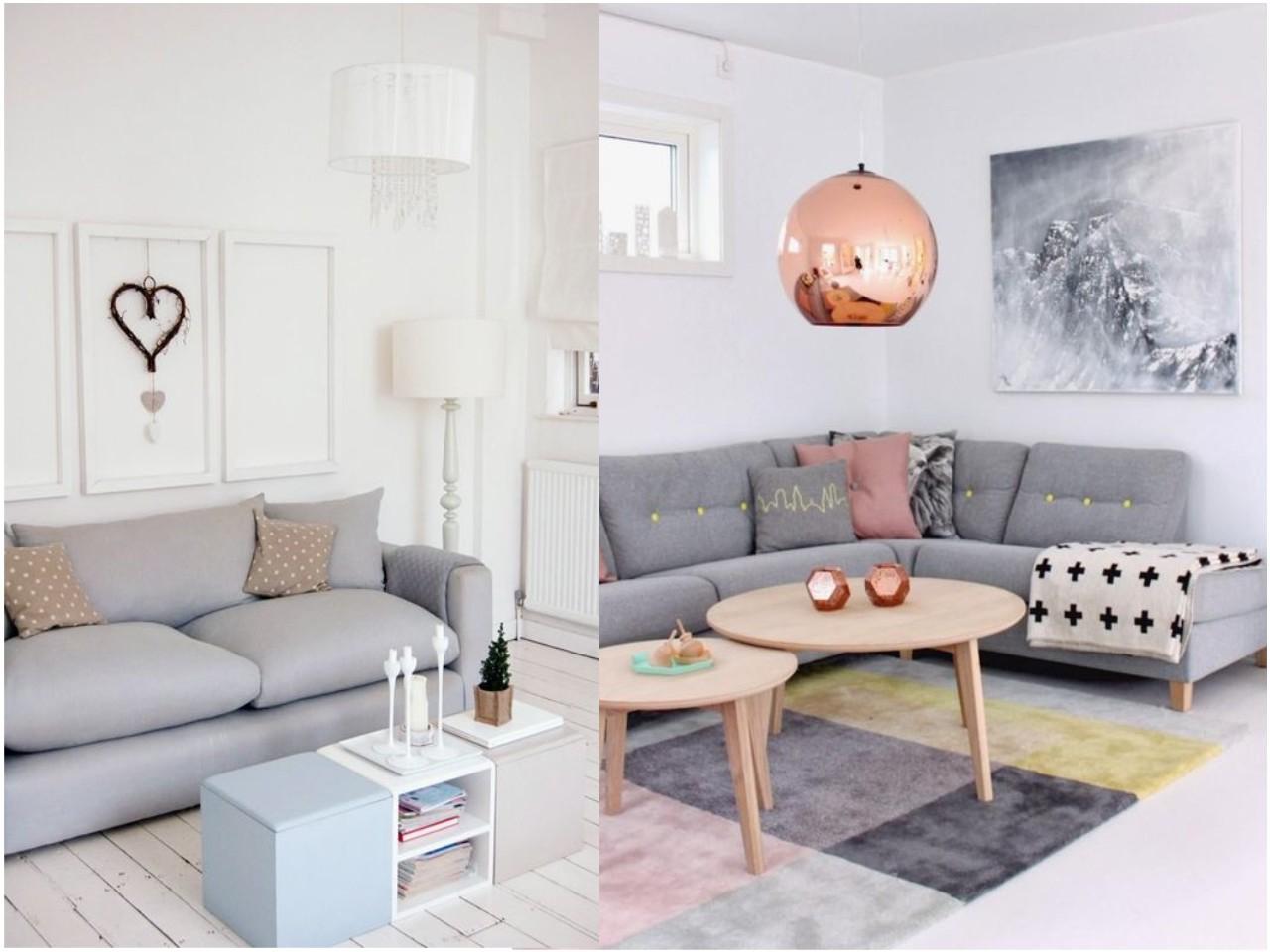 Sofa Gris Oscuro H9d9 Apaºntate A La Decoracia N En Color Gris