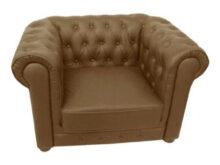 Sofa Ingles S1du atoz Furniture Ingles sofa Sets Single Seater sofa In Brown Color