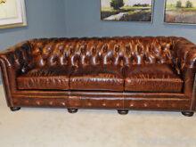 Sofa Ingles Wddj New English Restoration Hardware Styl top Grain Leather Chesterfield