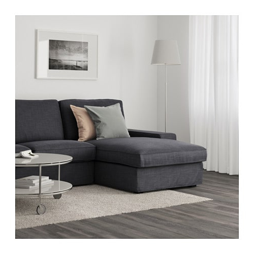 Sofa Kivik Ikea D0dg Kivik sofa with Chaise Hillared Anthracite Ikea