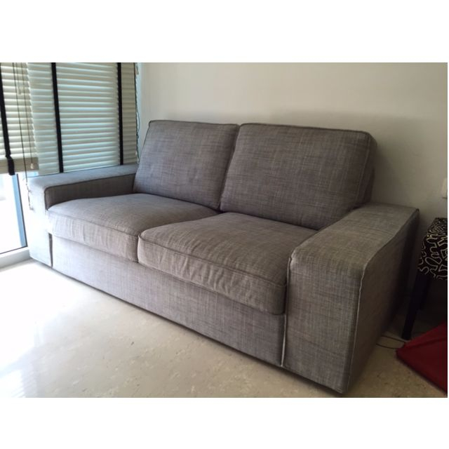 Sofa Kivik Ikea H9d9 isunda Grey 2 Seat Kivik Ikea sofa Furniture On Carousell