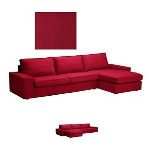 Sofa Kivik Ikea Ipdd Ikea Kivik sofa W Chaise Long Lounge Slipcover Cover Dansbo Medium
