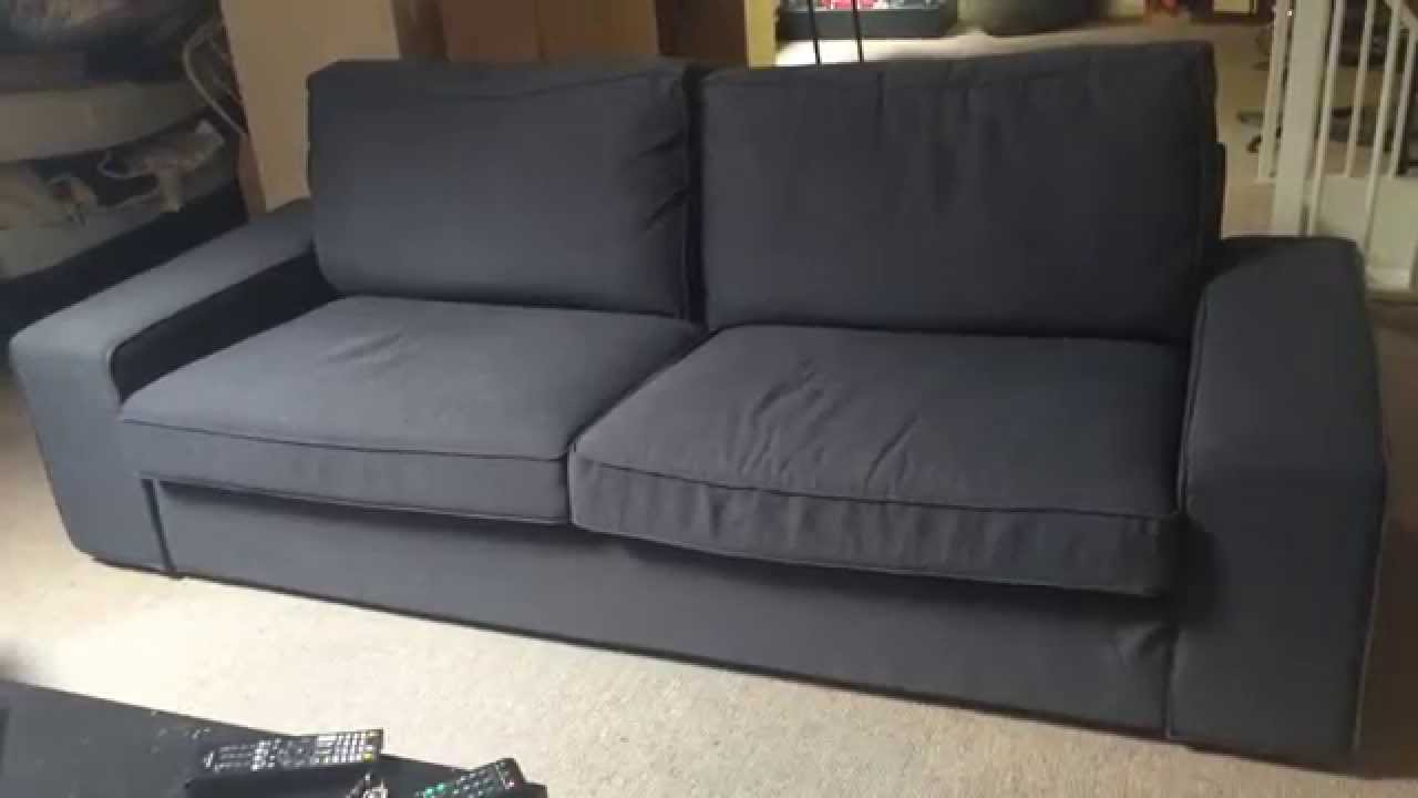 Sofa Kivik Ikea T8dj Ikea Kivik Three Seat sofa Youtube