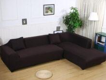 Sofa L E6d5 sofa Covers for L Shape 2pcs Polyester Fabric Stretch Slipcovers 3