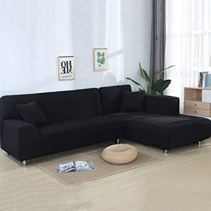 Sofa L Q5df Cjc Universal sofa Covers for L Shape 2pcs Polyester