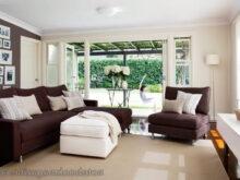 Sofa Marron Chocolate 9fdy Decorar Living Con sofa Marron Casa Web