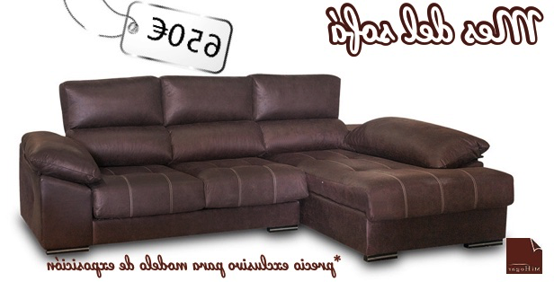 Sofa Marron Chocolate Bqdd Chaise Longue Oferta Chocolate Muebles Mi Hogar