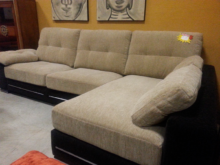 Sofa Marron Chocolate Rldj Chaislonge Beige Y Marrà N Chocolate asientos Muelles Muebles Felipe