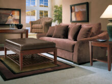 Sofa Marron Chocolate Thdr Microfiber sofa Set Classic Brown Two Cushion Seat Brown
