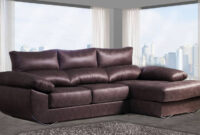 Sofa Marron Chocolate X8d1 sofà Con Chaise Longue Abatible Marrà N