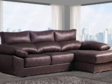 Sofa Marron Chocolate X8d1 sofà Con Chaise Longue Abatible Marrà N