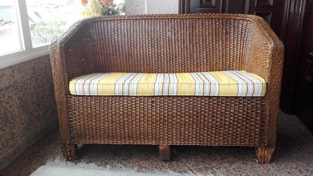 Sofa Mimbre 4pde sofa Mimbre