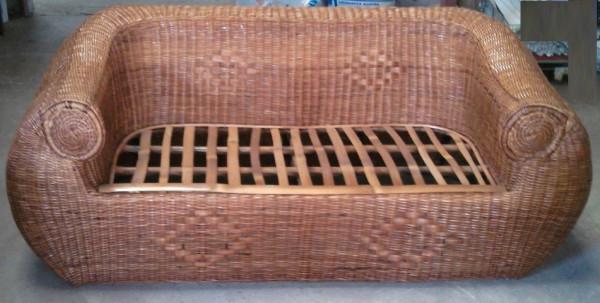 Sofa Mimbre Ffdn sofa De Mimbre Artesanal Troco