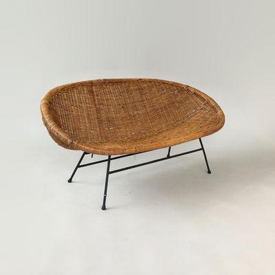 Sofa Mimbre Gdd0 sofà Infantil En Miniatura De Mimbre Aà Os 50
