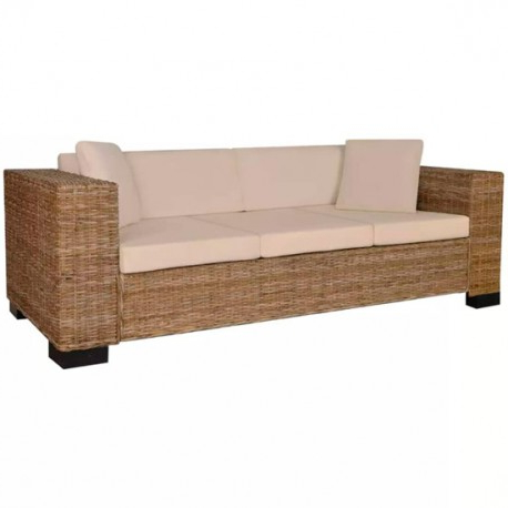 Sofa Mimbre S5d8 sofà Mimbre Tres Plazas Exterior Outletbarato