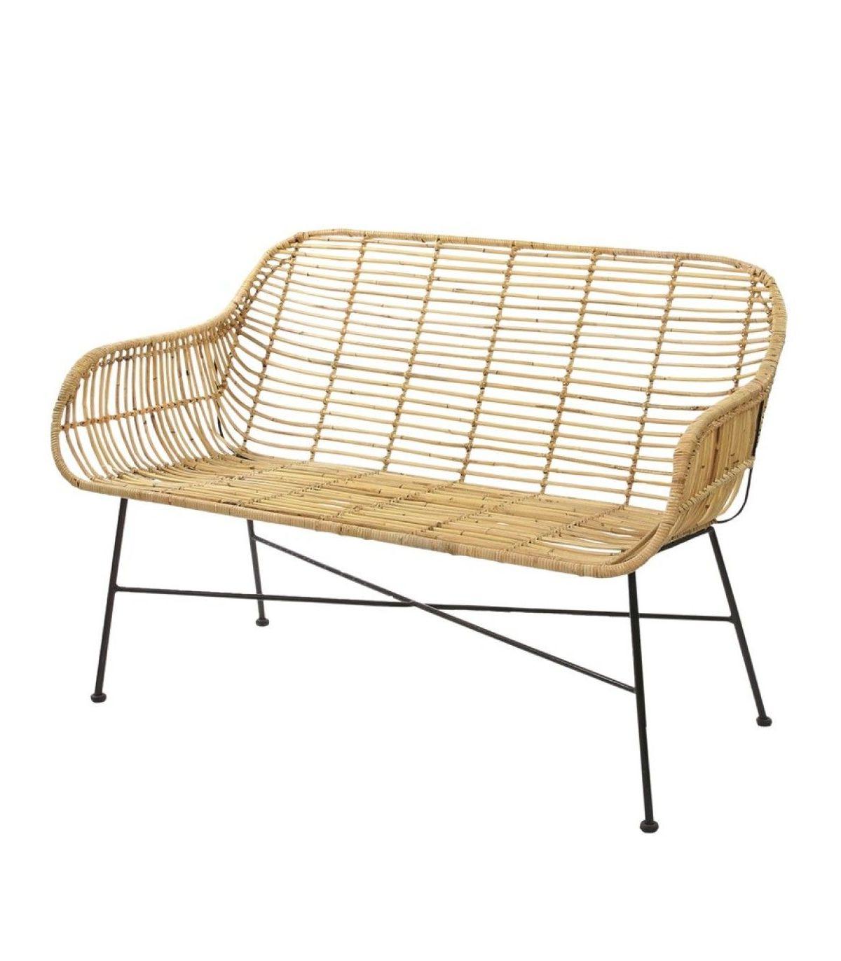 Sofa Mimbre Whdr sofa Mimbre 118x63x83 Cm