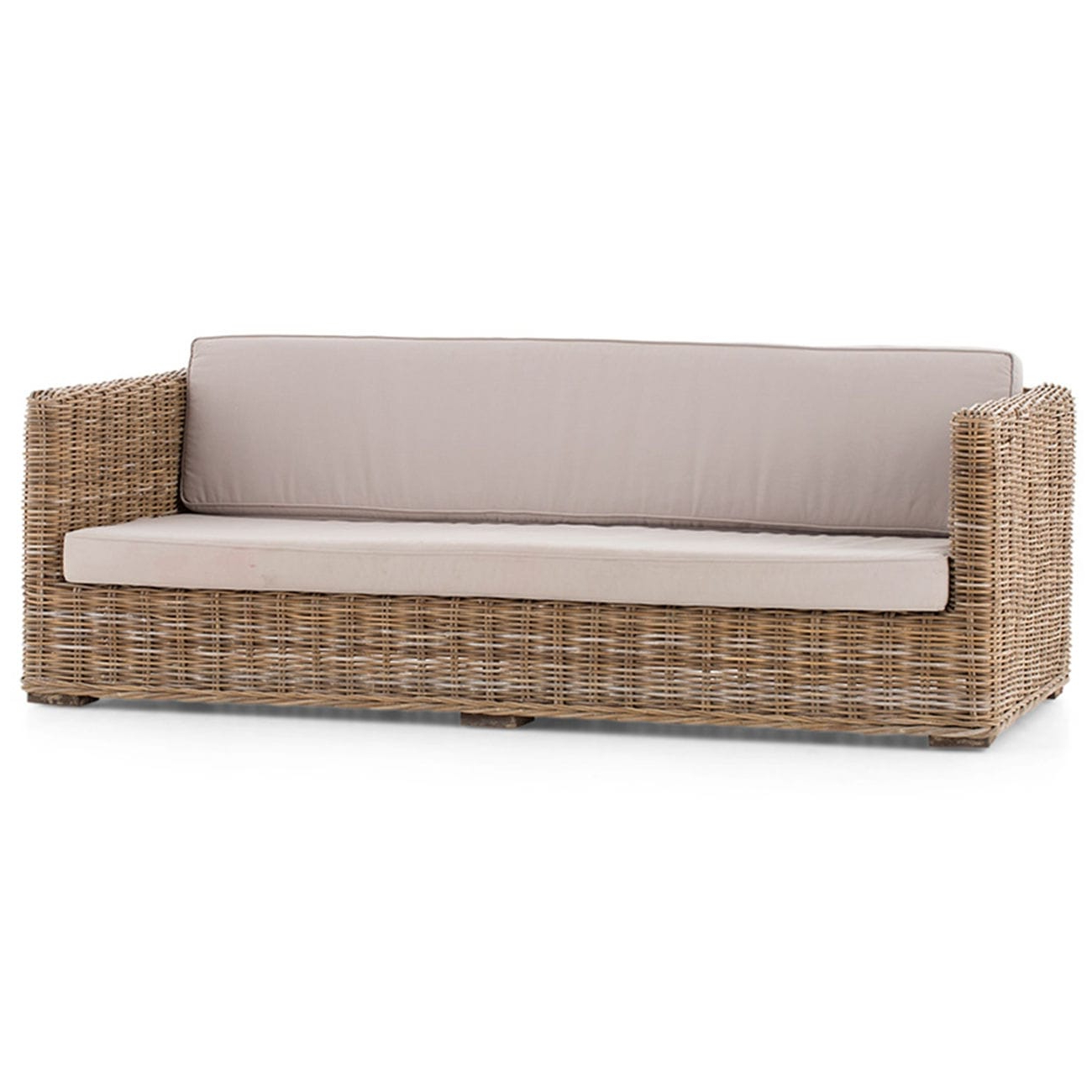 Sofa Mimbre X8d1 Contemporary sofa Fabric Rattan Wicker