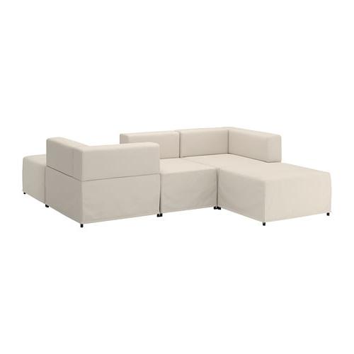 Sofa Modular E9dx Kungshamn 3 Seat Modular sofa Idekulla Beige Ikea