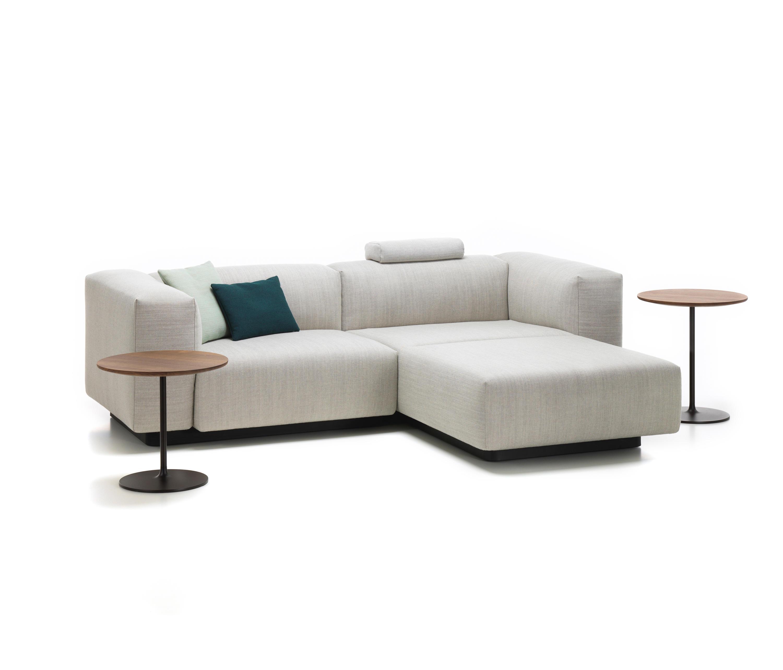 Sofa Modular Fmdf soft Modular sofa 2 Seater Chaise Longue sofas From Vitra